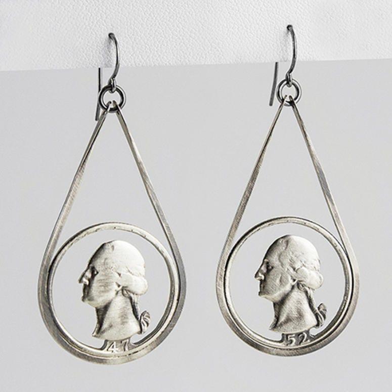 Quarter Earrings