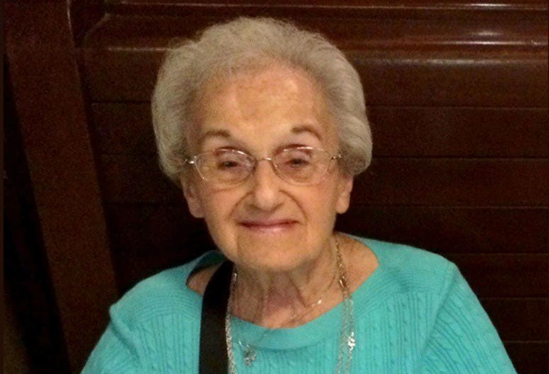 This undated family photo provided by the University of Pittsburgh Medical Center (UPMC) shows Rose Mallinger, 97, who was one of the people killed on Oct. 27, 2018.