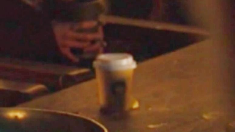 Twitter is convinced it's a Starbucks cup, but it really could be from anywhere.