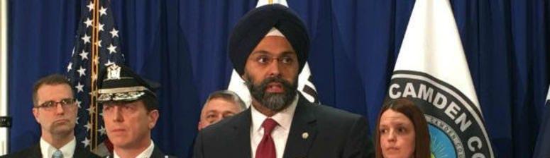 New Jersey Attorney General Gurbir Grewal.