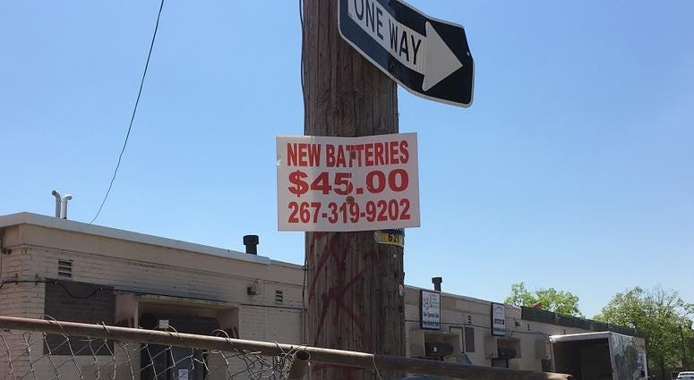"For the first time, Philadelphia is offering a bounty to help rid the streets of so-called ""bandit signs."""
