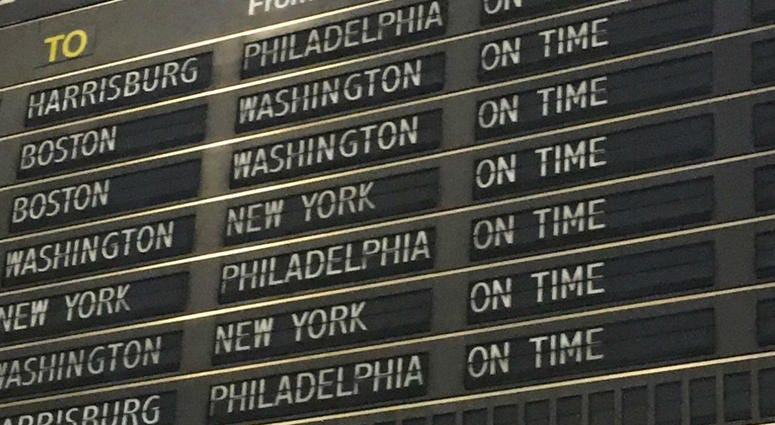 The days are numbered for 30th Street Station's beloved split-flap schedule board.