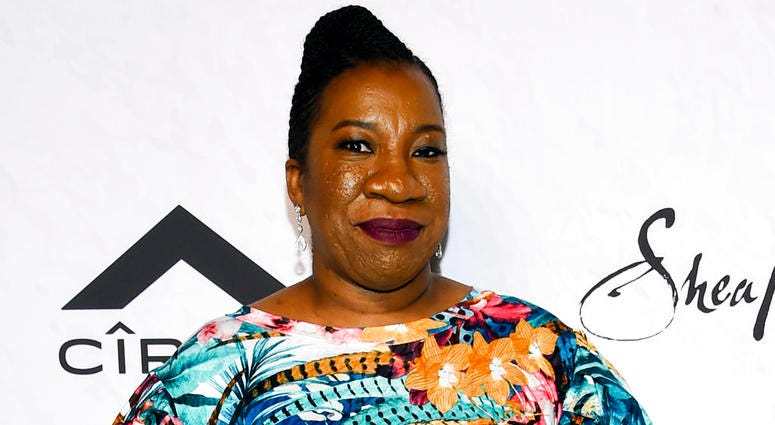Tarana Burke, founder of the MeToo movement, attends Variety's Power of Women: New York event in New York.