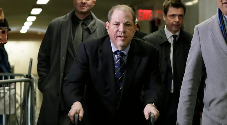 Week 1 of Weinstein trial: Vile allegations, X-rated gifts