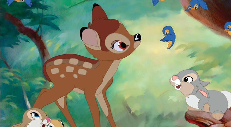 A judge is sentencing this poacher to a year in jail -- and making him watch Bambi once a month