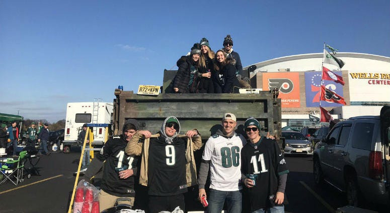 Eagles It's Christmas time in South Philadelphia and Eagles fans are making a list they hope St. Nick can deliver to them.