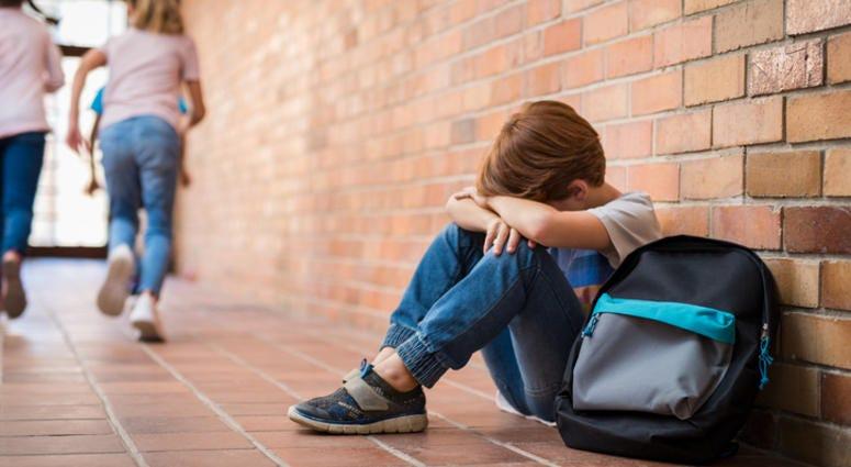 Child unhappy at school.