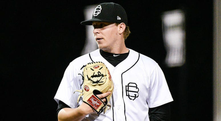 Villanova product Hunter Schryver had a 2.23 ERA this season for the Bowling Green Hot Rods before getting promoted to High-A Charlotte in the Tampa Bay Rays organization.