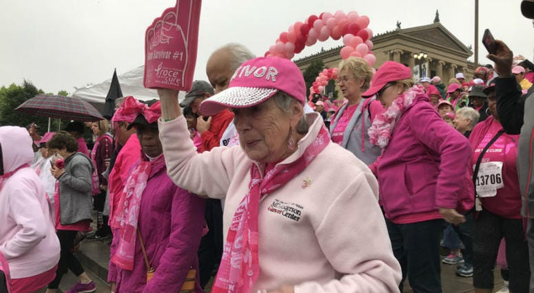 The 28th annual 5K event drew a huge crowd even with a rainy start Sunday morning.
