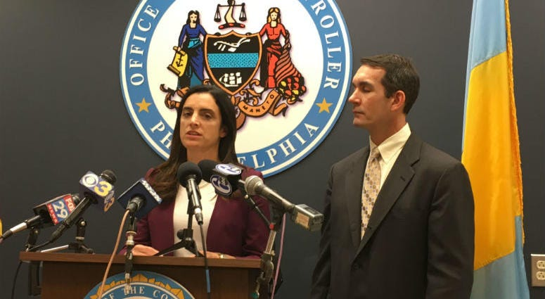 City Controller Rebecca Rhynhart and Pennsylvania Auditor General Eugene DePasquale