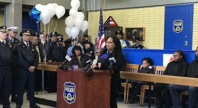 Inside the 22nd District police station where Sgt. Robert Wilson III once worked, hundreds gathered to honor the man who sacrificed his life to protect innocent civilians.