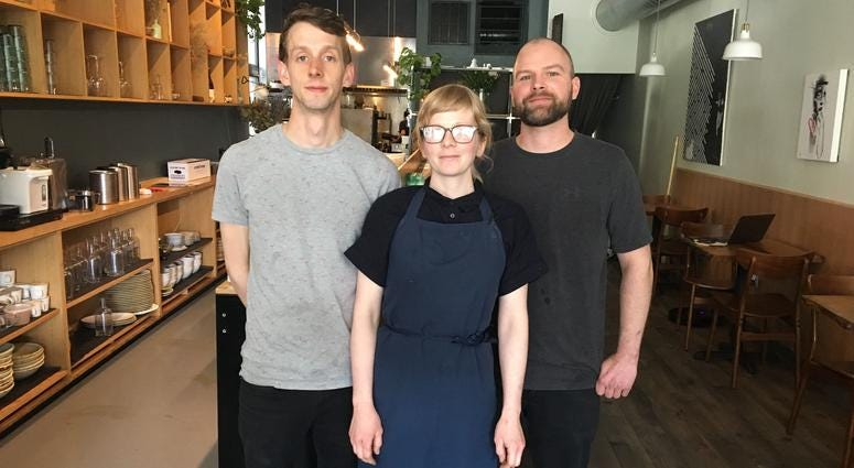 Cadence restaurant co-owners