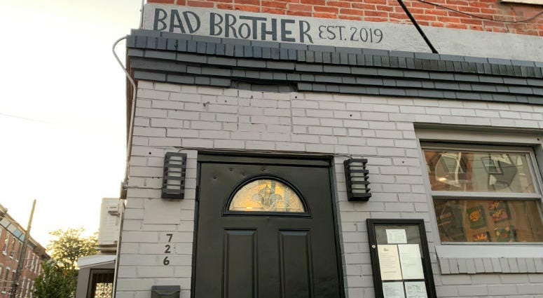 Bad Brother restaurant just opened in Fairmount.