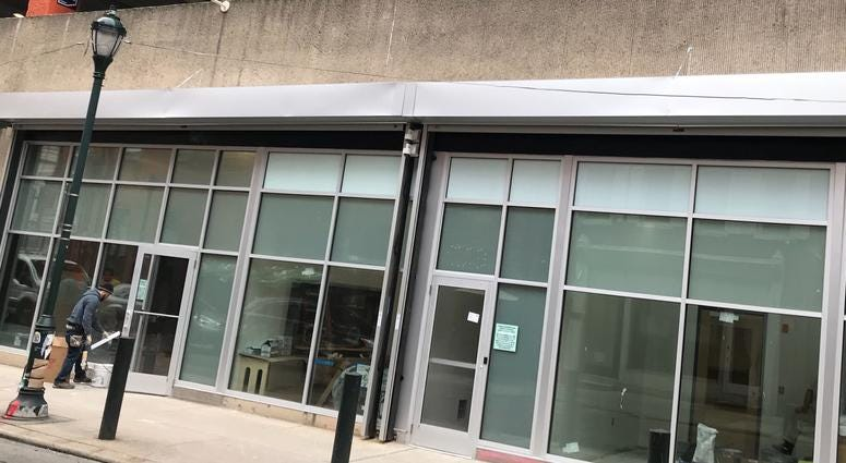 The Beyond/Hello dispensary is located at 1206 Sansom St. It officially opens Jan. 24.