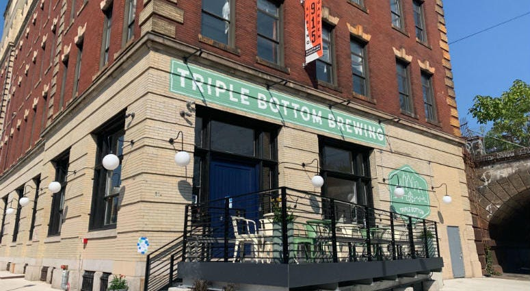 Triple Bottom Brewery in Spring Garden.