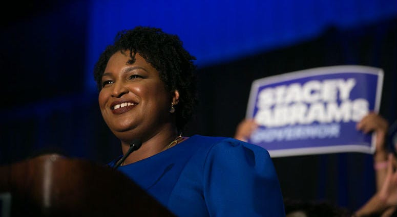 After President Donald Trump finishes his State of the Union address, Stacey Abrams will have a turn in the national spotlight when she delivers the Democratic response.