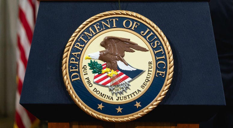 The United States has seized a North Korean cargo ship, alleging sanctions violations by the country, the Justice Department said Thursday.