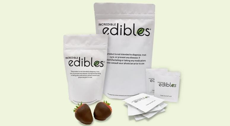 Edible Arrangements is selling CBD-infused edibles