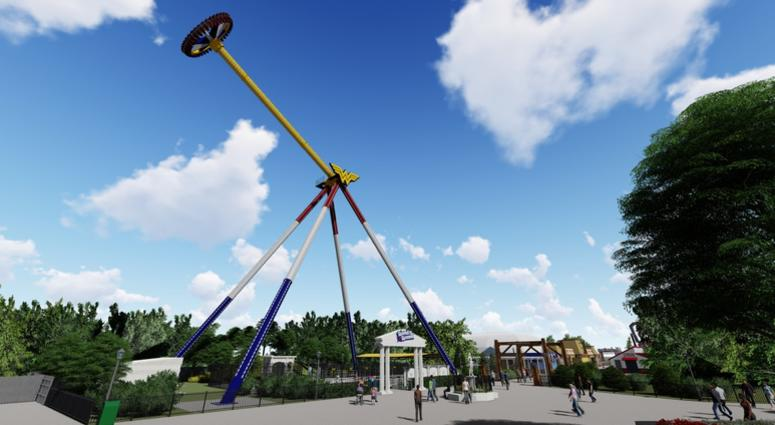 New Wonder Woman Themed Ride At Six Flags In New Jersey Will