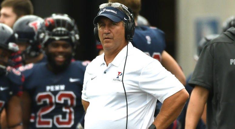 Penn head coach Ray Priore.