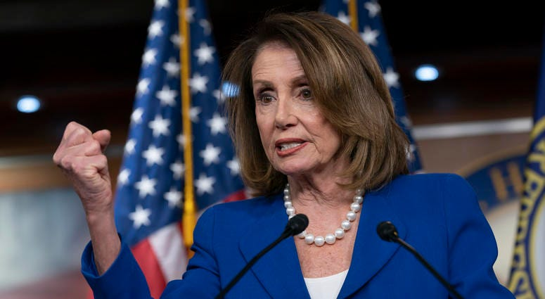 """House Speaker Nancy Pelosi heaps scorn on Attorney General William Barr, saying his letter about special counsel Robert Mueller's report was """"condescending"""""""