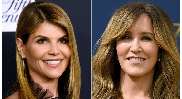 Lori Loughlin and Felicity Huffman