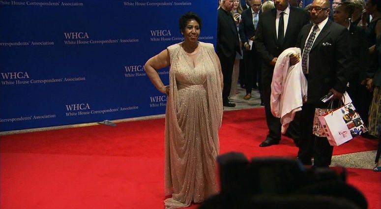 White House correspondents' dinner red carpet