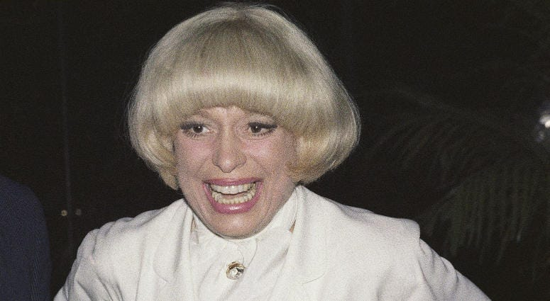 This June 19, 1978 file photo shows actress Carol Channing in New York. Channing, whose career spanned decades on Broadway and on television has died at age 97.