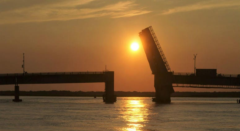 Townsends Inlet Bridge between Avalon and Sea Isle City