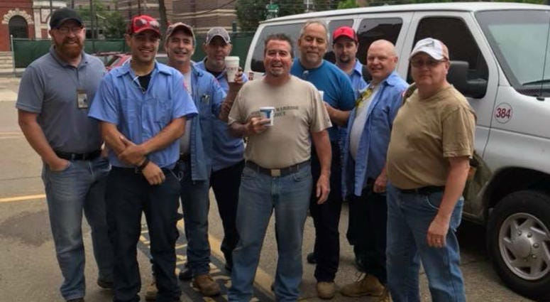 This Temple University facilities team helped build a five-unit home in North Philly.