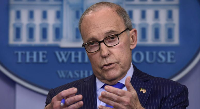 Senior White House economic adviser Larry Kudlow