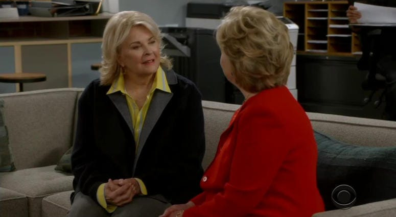 Hillary Clinton adds a new line on her resume...actress. She appeared in the series premiere of the 'Murphy Brown' reboot on CBS.