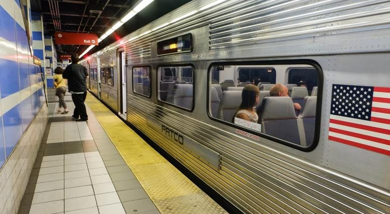 The Delaware River Port Authority says real-time train information on PATCO platforms is still about a year away.