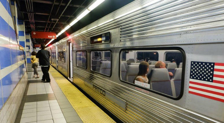 PATCO is giving facelifts this year to its three most-used stations.
