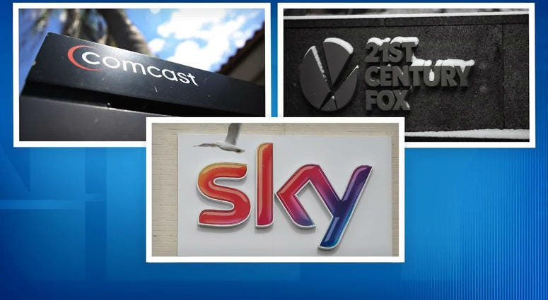 Comcast Buys Sky