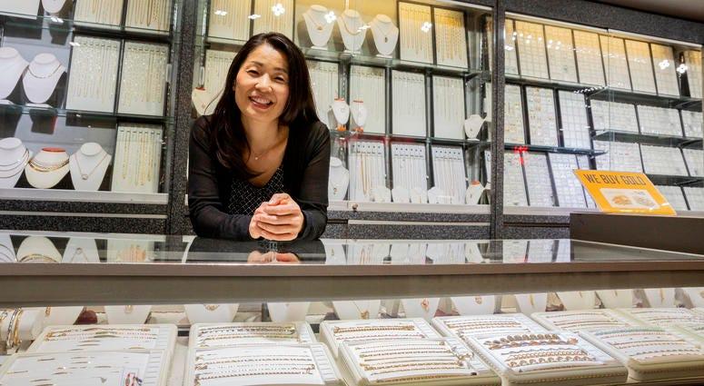 Happy Jewelers owner Kris Kim.