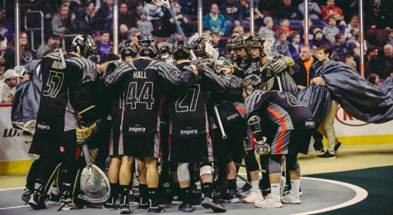 The Philadelphia Wings visit Buffalo on Saturday night.