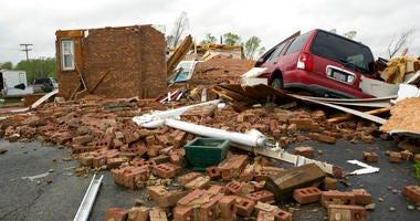 southern tornadoes