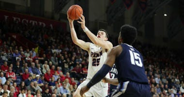 Junior forward A.J. Brodeur leads Penn in scoring (14.6 ppg) and rebounding (7.4 per game).