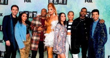 "Cast of ""Rent"" on FOX TV"