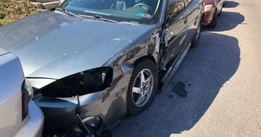 Imagine waking up and walking outside to find your parked car with the side smashed in, headlights broken, and the mirror on the ground. That's what happened to several neighbors in West Oak Lane Sunday morning.