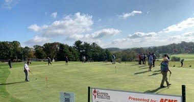 Phillies alumni raising money for the Darren Daulton Foundation at Huntingdon Valley Country Club.
