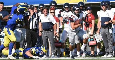 Sophomore wide receiver Ryan Cragun leads Penn with 36 catches this season for 604 yards.
