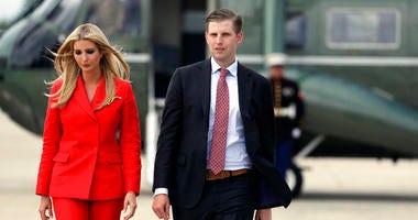Ivanka and Eric Trump