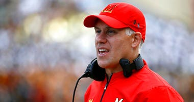 Maryland head coach DJ Durkin