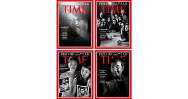 """Time magazine's 2018 """"Person of the Year"""" cover"""