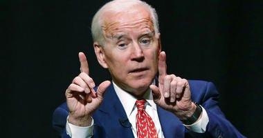 FILE - In this Dec. 13, 2018, file photo, former Vice President Joe Biden speaks at the University of Utah in Salt Lake City.
