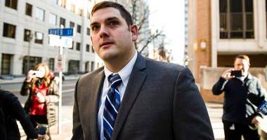Former East Pittsburgh police officer Michael Rosfeld.
