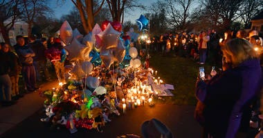 "Andrew ""AJ"" Freund vigil"