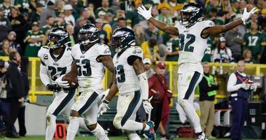 Philadelphia Eagles versus Green Bay Packers